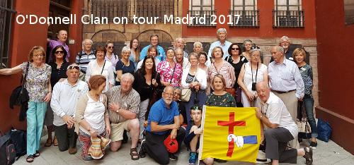 O'Donnell Clan on tour Madrid 2017